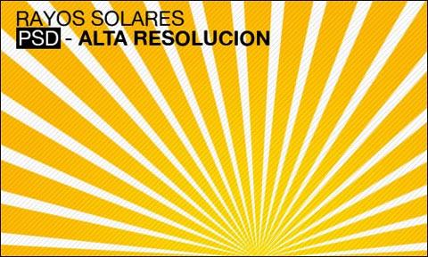 rayo solares PSD