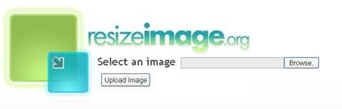 resize image