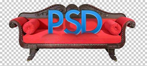 Sillones y Sofa en PSD