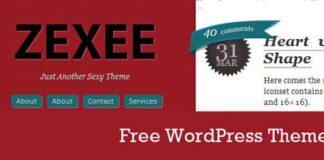 zexee free wordpress theme