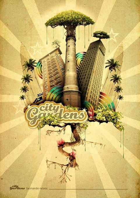 city Gardens by blade bd