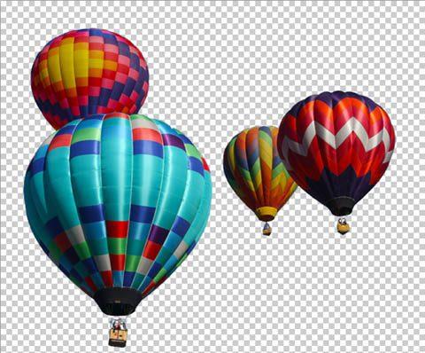 Psd de globos aerost ticos puerto pixel recursos de dise o - Globos aerostaticos infantiles ...
