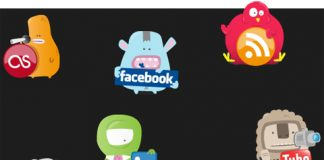 iconos creativos redes sociales