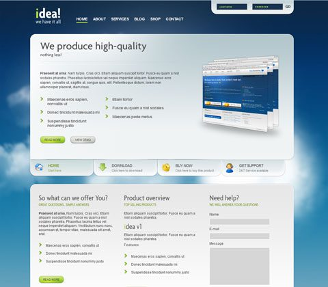 idea wordpress theme premium