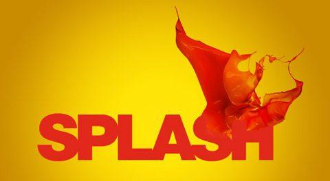 splash - salpicaduras en psd