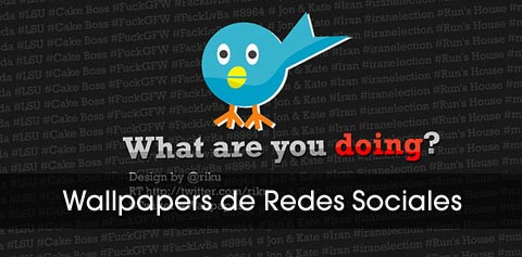 wallpapers de redes sociales