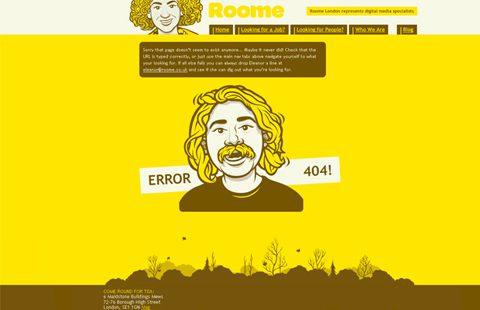 Ejemplos de error 404