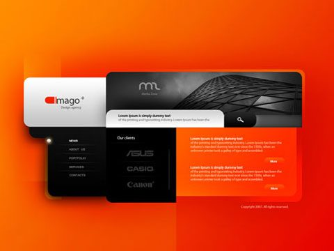 creative web design