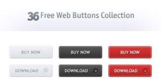 botones psd