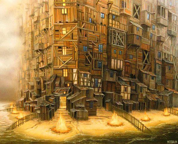 ilustraciones de Jacek Yerka