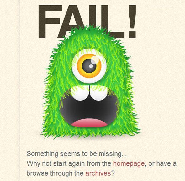 ejemplos error 404