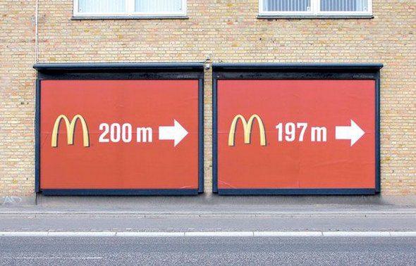 100 Publicidades creativas