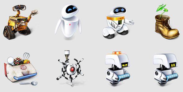 WALL-E-ICONS