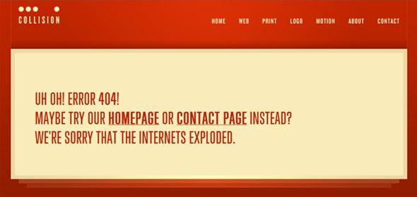 creative error 404