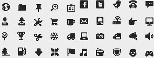 iconos vectorizados: