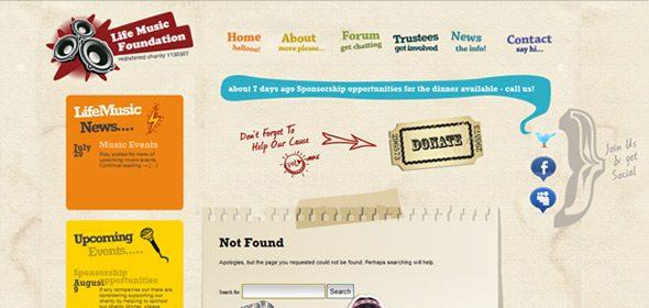 error creativo 404