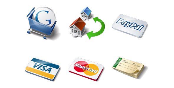 iconos de medios de pago
