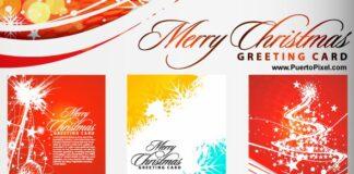 tarjetas-de-navidad-vectorizadas