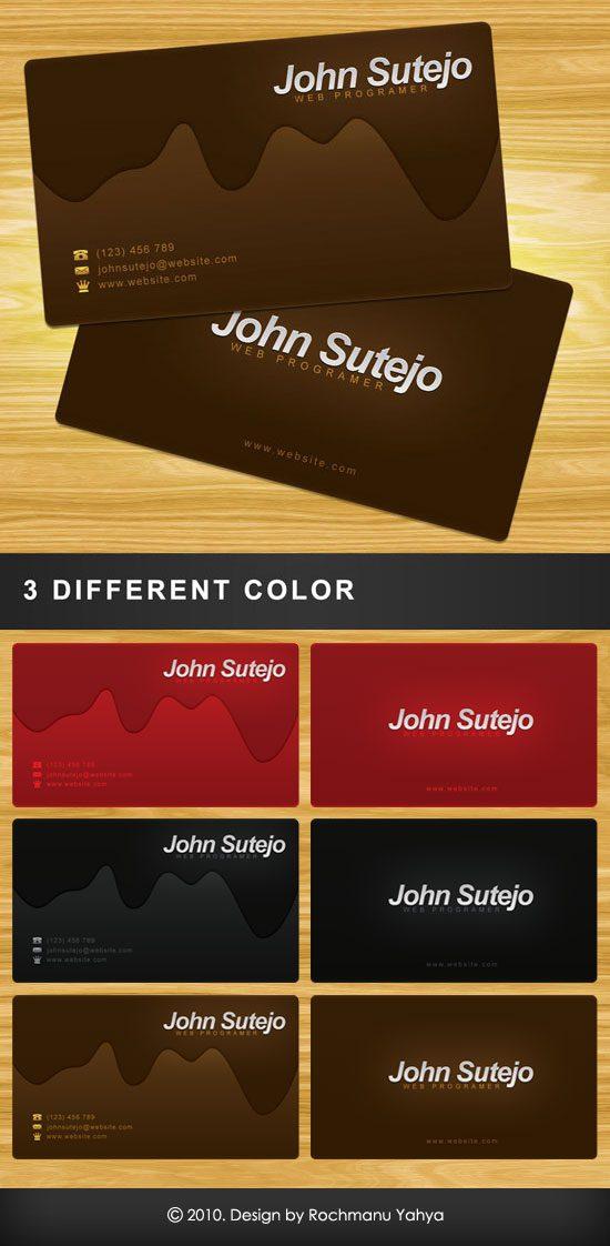 template tarjeta personal