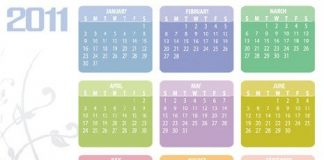 Calendarios infantiles para el 2011