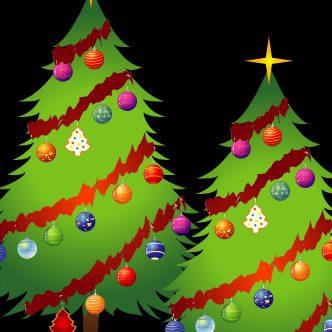 vectores de objetos navideños