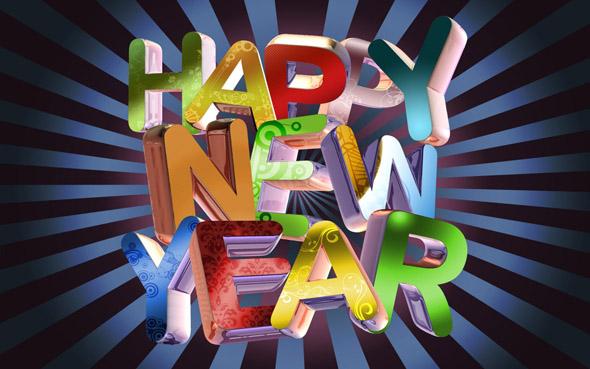 wallpaper año nuevo 2011