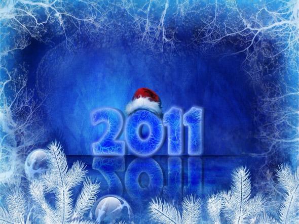 Wallpapers año nuevo 2011