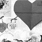 100 brushes de gran calidad -  Valentine day card brushes