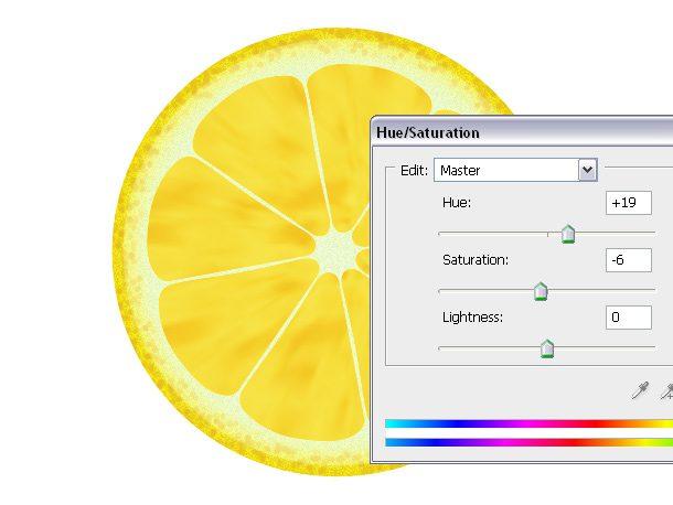 tutorial photoshop como hacer una naranja y un limon realistas