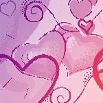 100 brushes de gran calidad -  Hearts brushes