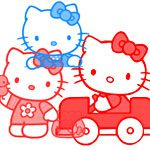 100 brushes de gran calidad -  Hello Kitty brushes