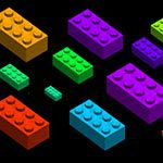 100 brushes de gran calidad -  Lego bricks brushes