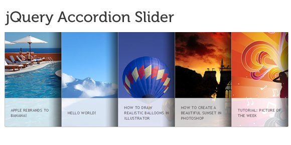 accordion 20 Amazing and Fully Functional jQuery Slider Plugins