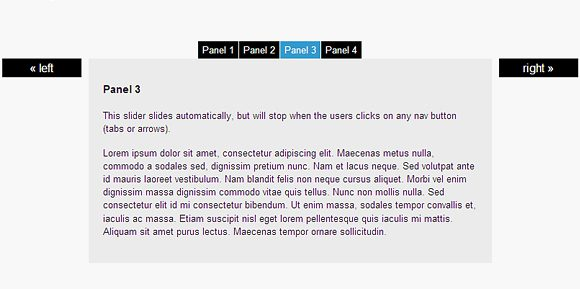 coda slider ugly 20 Amazing and Fully Functional jQuery Slider Plugins