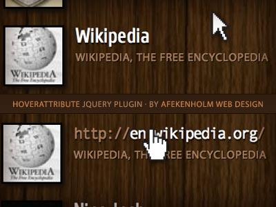 plugin jquery para darle efecto a los enlaces
