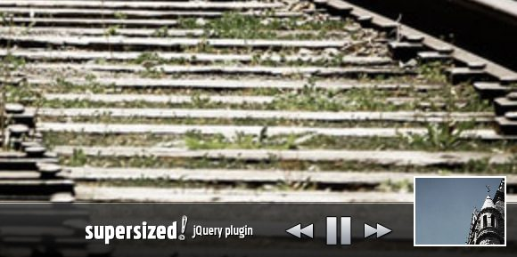 super sized 20 Sliders para jQuery