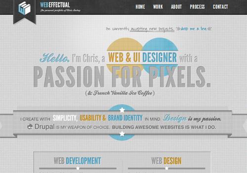 40 diseños web muy creativos - web effectual