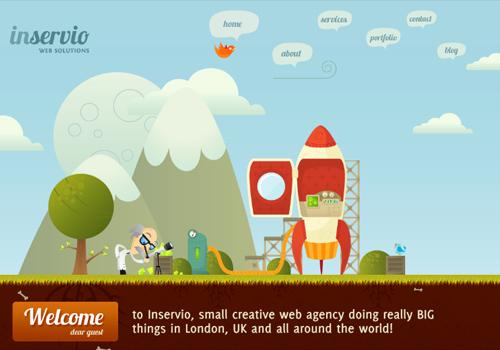 40 diseños web muy creativos - inservio web solutions