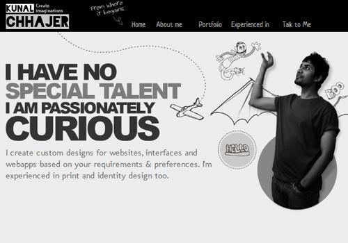 40 diseños web muy creativos - kunalchhajer