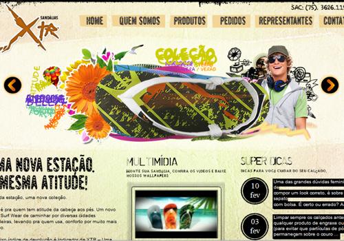 40 diseños web muy creativos - sandaliasxtr