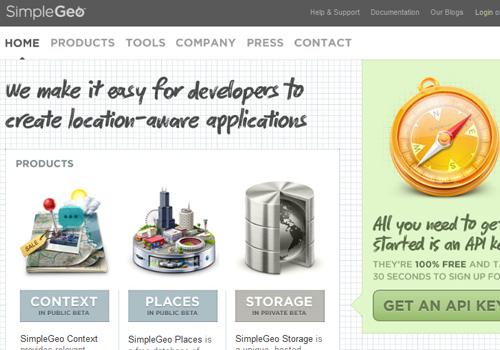 40 diseños web muy creativos - simple geo