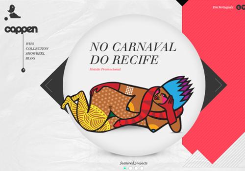 40 diseños web muy creativos - cappen