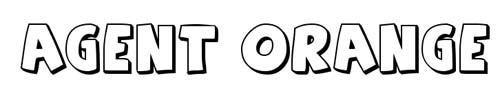 100 tipografias estilo 3d - agent-orange