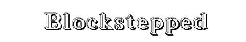 100 tipografias estilo 3d - blockstepped