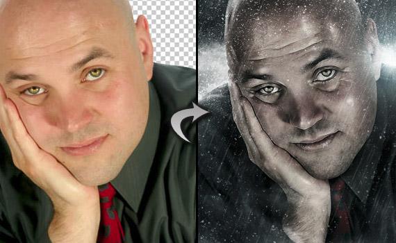 30 tutoriales photoshop -  - cinematic-portrait-photo-effect-photoshop-tutorial