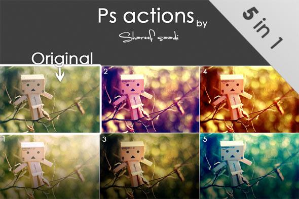 color actions photoshop