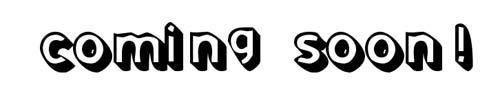 100 tipografias estilo 3d - comingsoon