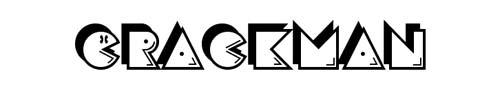 100 tipografias estilo 3d - crackman