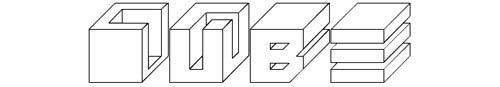 100 tipografias estilo 3d - cube