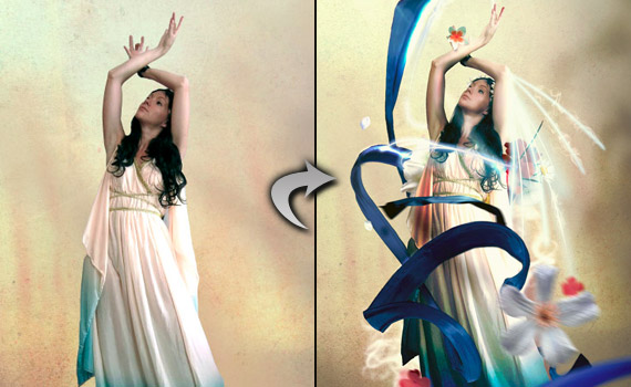 30 tutoriales photoshop -  - fantasy-photo-effect-montage-photoshop-tutorial